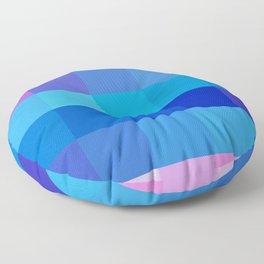 Pixels: Pinks & Blues Floor Pillow