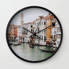 Venice VII / Italy Wall Clock
