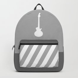 Simple Grey Guitar Backpack