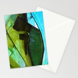 Abstraction 317G by Kathy Morton Stanion Stationery Cards
