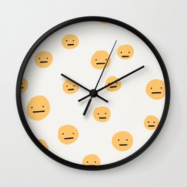 Have a Meh day Wall Clock