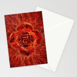 Root chakra - Muladhara  Stationery Cards