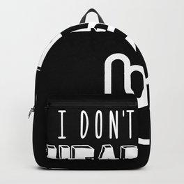 I Don't Dance I Headbang Backpack