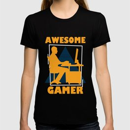 Retro Gamer Graphic T Shirt T-shirt