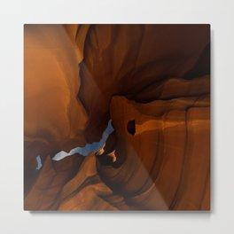 Night - Upper Antelope Canyon, Arizona Metal Print