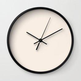 Solid Color Series - Linen Wall Clock