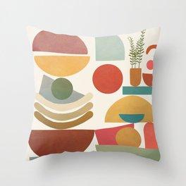 Modern Abstract Art 77 Throw Pillow