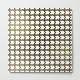Islamic Pattern Metal Print