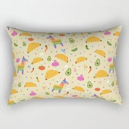 Taco Fiesta Rectangular Pillow