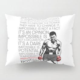 Ali 'The Champ' Boxing Pillow Sham