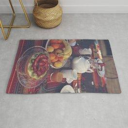 Food photography, fruit still life, kitchen wall art, bed & breakfast, food porn, fine art Rug