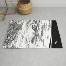 Space upon us Rug
