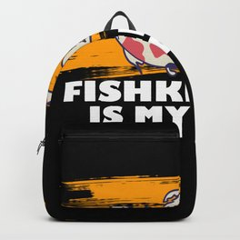Fishkeeping is my drug Backpack