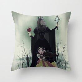Snow White - Poster Throw Pillow