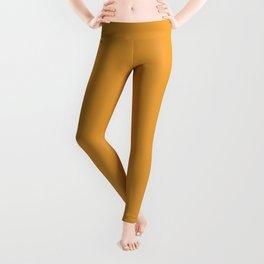 Dunn and Edwards 2019 Curated Colors Persimmon Orange (Pumpkin Orange) DE5293 Solid Color Leggings