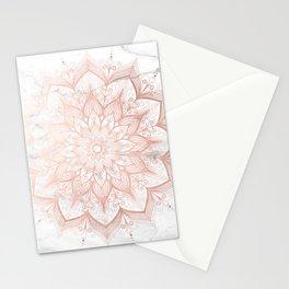 Imagination Rose Gold Stationery Cards