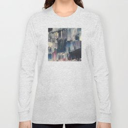 Drenched in Rain-Wrapped Shadows Long Sleeve T-shirt