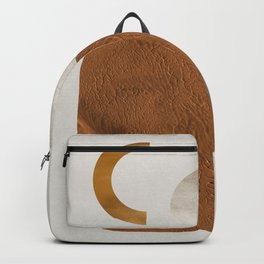 Trendy Abstract Collection: Blue Dot Backpack