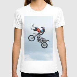 Motocross Shaolin Stunt Jump T-shirt