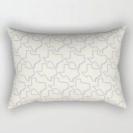 ATX Austin, Texas Retro Neon Lights Rectangular Pillow
