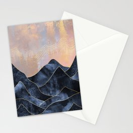 Mountainscape Stationery Cards