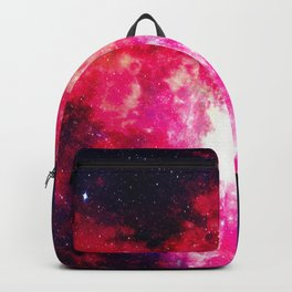 Wondering Abstract Colorful Galaxy Space - Spacial Interstellar Dust Backpack