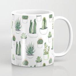 watercolour cacti and succulen...