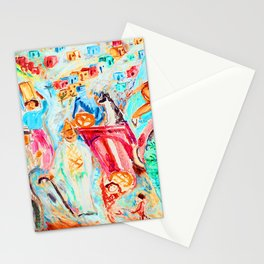 Nils Dardel Tourist in Tenerife Stationery Cards