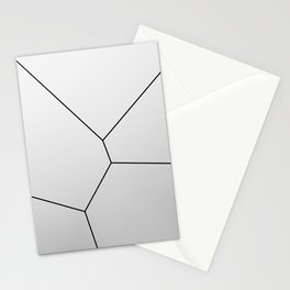 MNML BRKN SLVR Stationery Cards