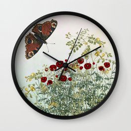 'Serenity only a deliberate hebitude' Wall Clock