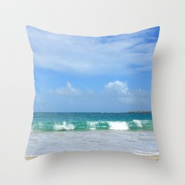 Big Waves After the Storm Throw Pillow