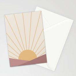 Morning Light - Pink Stationery Cards
