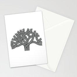Oakland Love Tree (Black) Stationery Cards