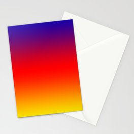 069 Fresh Saturation Gradient Stationery Cards