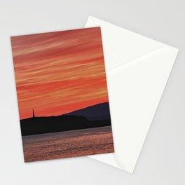 Sunset at Oban Bay Stationery Cards