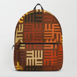 African pattern Backpack