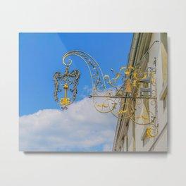 the golden key Metal Print