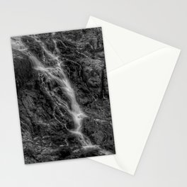 Waterfalls - Black And White Fine Art At Barron Gorge National Park Stationery Cards