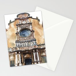 Santa Maria de Montserrat Abbey Stationery Cards