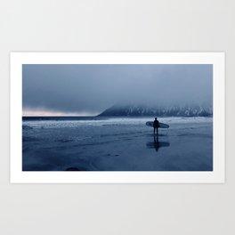 Arctic Surf Art Print