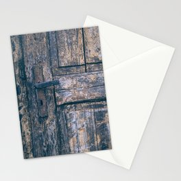Weathered Wooden Door Stationery Cards