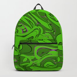 Green Destination Backpack