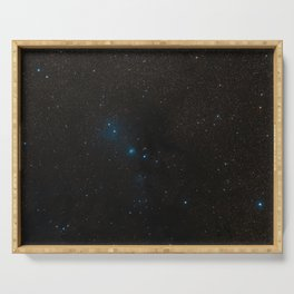 Hubble Space Telescope - Wide-field view of the Serpens Nebula Serving Tray