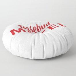 Rosebud Motel Floor Pillow