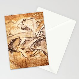 Panel of Lions // Chauvet Cave Stationery Cards