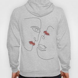 Abstraction Faces Hoody