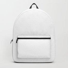 My Alaskan Malamute Makes Me Happy Backpack