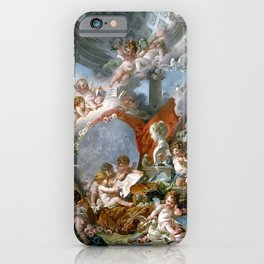 Geniuses of the Arts - Francois Boucher iPhone Case