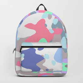 Candy Camo Blobs Backpack