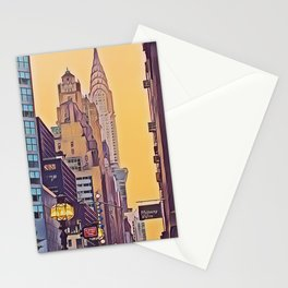nyc photoArt view Stationery Cards